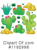 Royalty-Free (RF) Cactus Clipart Illustration #1192998
