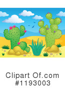 Royalty-Free (RF) Cactus Clipart Illustration #1193003