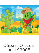 Royalty-Free (RF) Cactus Clipart Illustration #1193005
