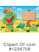 Royalty-Free (RF) Cactus Clipart Illustration #1236708