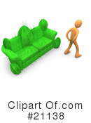 Royalty-Free (RF) cactus Clipart Illustration #21138