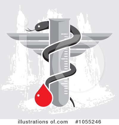 Caduceus Clipart #1055246 by Any Vector
