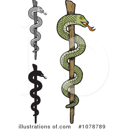 Caduceus Clipart #1078789 by Any Vector