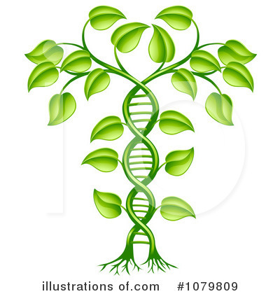 Dna Clipart #1079809 by AtStockIllustration