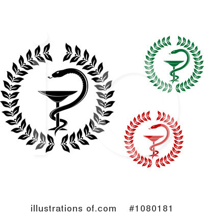 Caduceus Clipart #1080181 by Vector Tradition SM