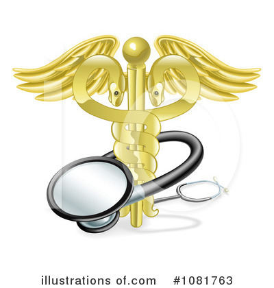 Caduceus Clipart #1081763 by AtStockIllustration