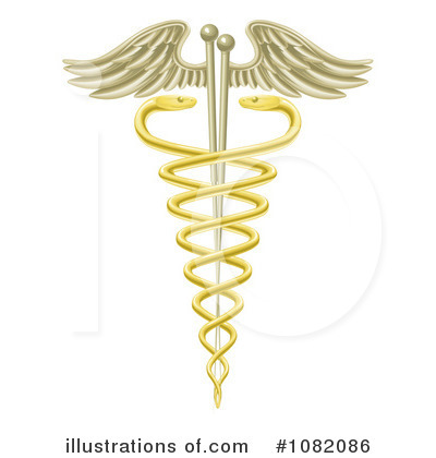 Caduceus Clipart #1082086 by AtStockIllustration