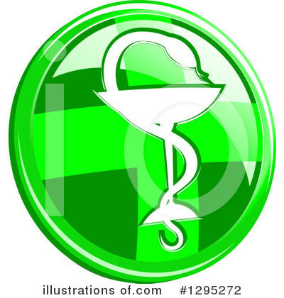 Caduceus Clipart #1295272 by Vector Tradition SM