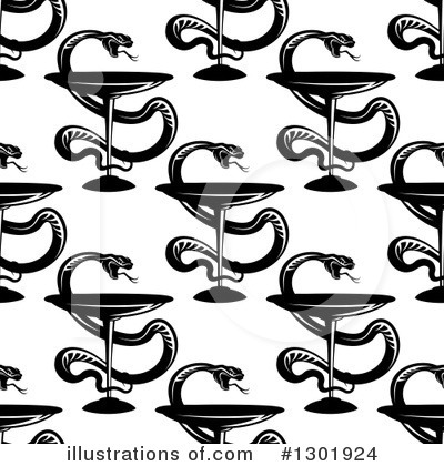 Caduceus Clipart #1301924 by Vector Tradition SM