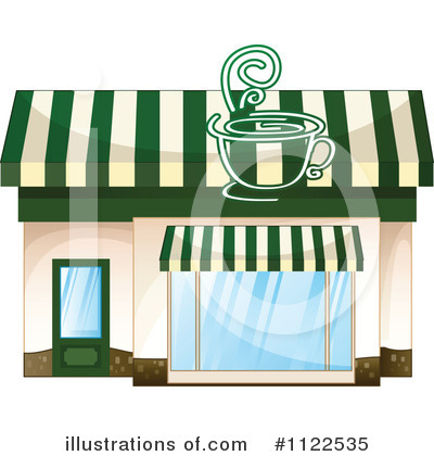 Cafe Clipart #1122535 by colematt | Royalty-Free (RF) Stock ...