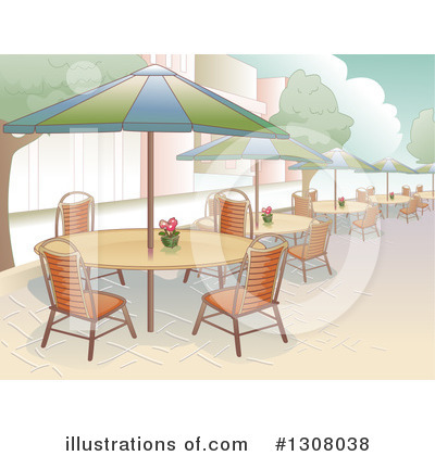 Dining Clipart #1308038 by BNP Design Studio