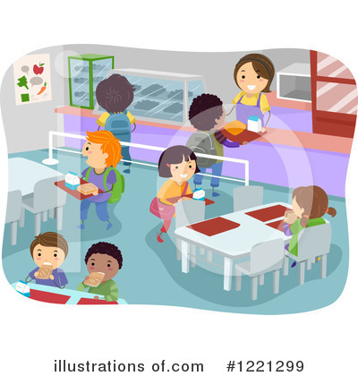 Cafeteria Clipart #1221299 by BNP Design Studio