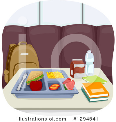 Cafeteria Clipart #1294541 by BNP Design Studio
