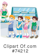 Cafeteria Clipart #74212 by BNP Design Studio
