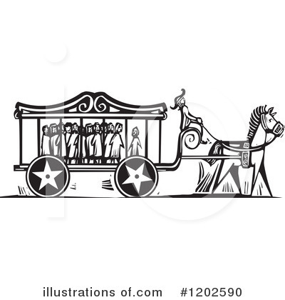 Carriage Clipart #1202590 by xunantunich