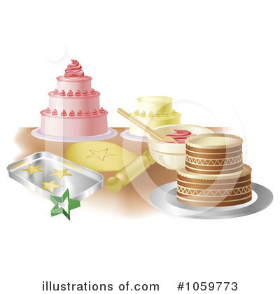 Baking Clipart #1059773 by AtStockIllustration