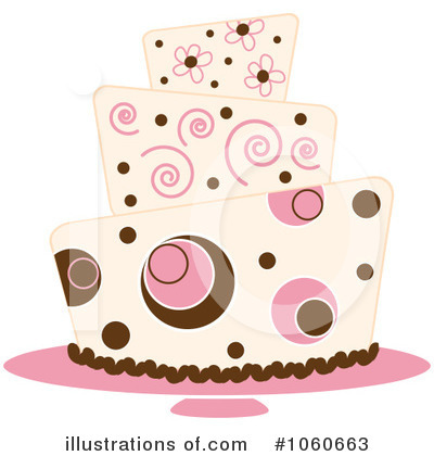 Birthday Cake Clipart #1060663 by Pams Clipart
