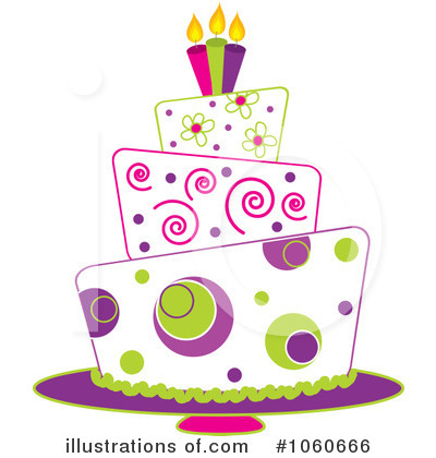 Birthday Cake Clipart #1060666 by Pams Clipart