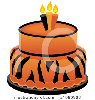 Birthday Cake Clipart #1080863 by Pams Clipart