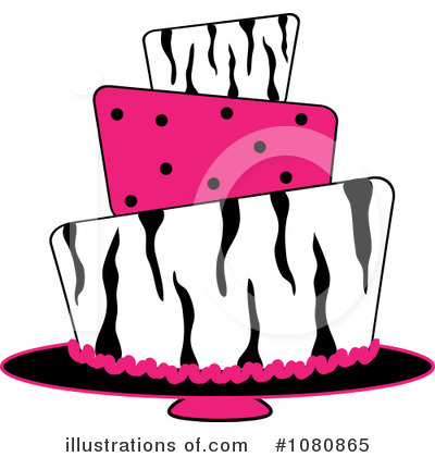 Birthday Cake Clipart #1080865 by Pams Clipart