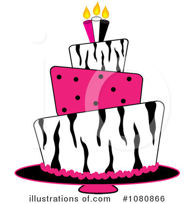 Birthday Cake Clipart #1080866 by Pams Clipart