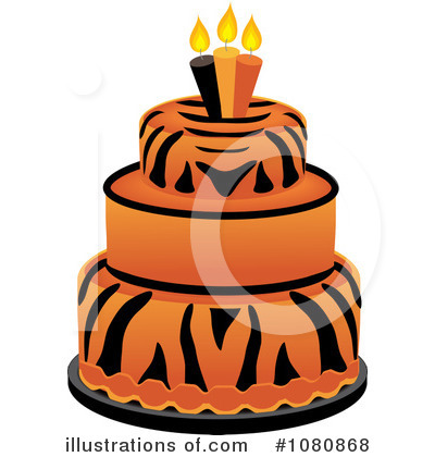Birthday Cake Clipart #1080868 by Pams Clipart