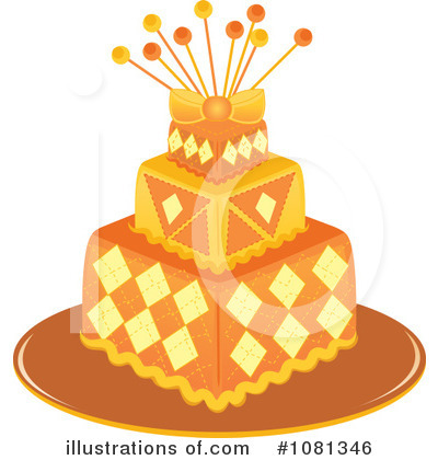 Birthday Cake Clipart #1081346 by Pams Clipart