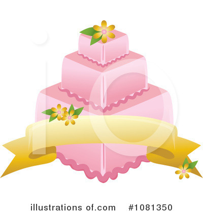 Birthday Cake Clipart #1081350 by Pams Clipart