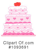 Royalty-Free (RF) Cake Clipart Illustration #1093691