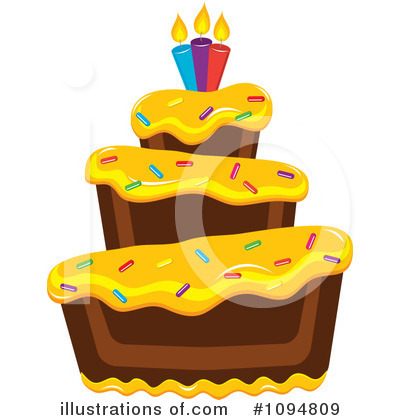 Birthday Clipart #1094809 by Pams Clipart