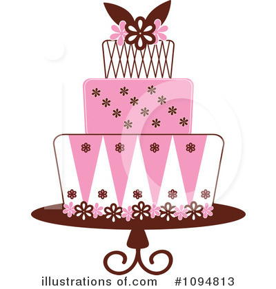 Birthday Cake Clipart #1094813 by Pams Clipart