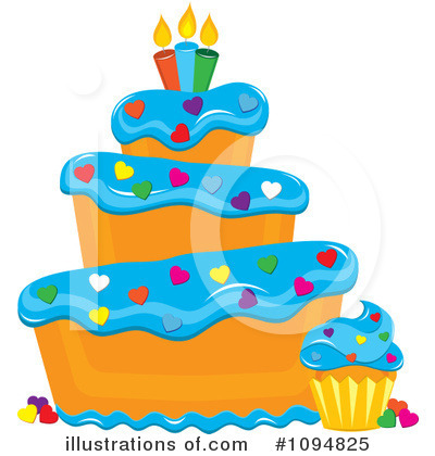 Cake Clipart #1094825 by Pams Clipart