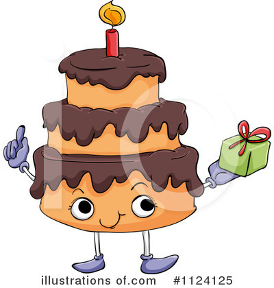 Birthday Cake Clipart #1124125 by Graphics RF