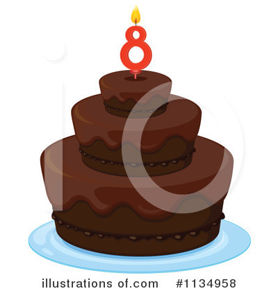 Birthday Cake Clipart #1134958 by Graphics RF