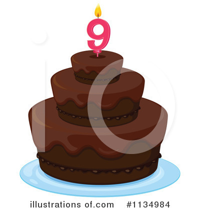 Birthday Cake Clipart #1134984 by Graphics RF