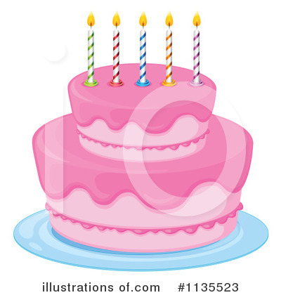 Birthday Cake Clipart #1135523 by Graphics RF