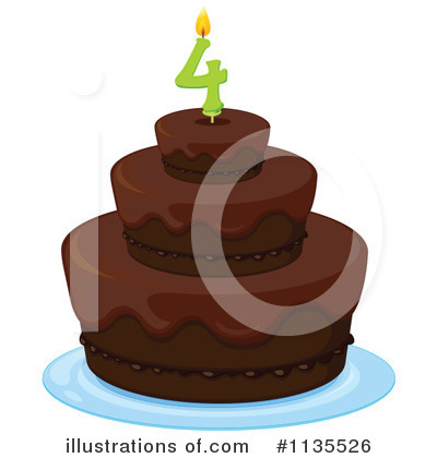 Birthday Cake Clipart #1135526 by Graphics RF