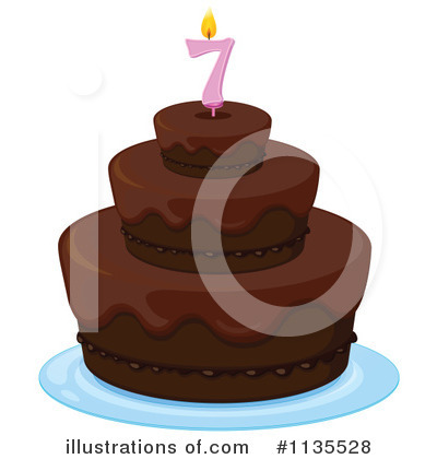 Birthday Cake Clipart #1135528 by Graphics RF