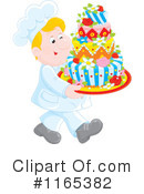 Royalty-Free (RF) Cake Clipart Illustration #1165382