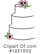 Cake Clipart #1221503 by Pams Clipart