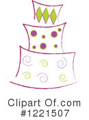 Cake Clipart #1221507 by Pams Clipart