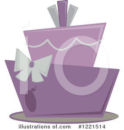 Royalty-Free (RF) Cake Clipart Illustration by Pams Clipart - Stock Sample #1221514