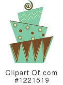 Cake Clipart #1221519 by Pams Clipart