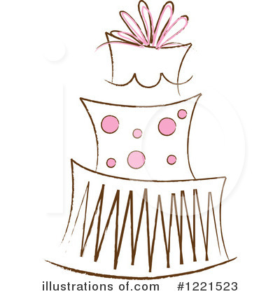 Birthday Cake Clipart #1221523 by Pams Clipart