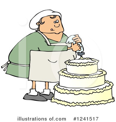 Royalty-Free (RF) Cake Clipart Illustration by djart - Stock Sample #1241517