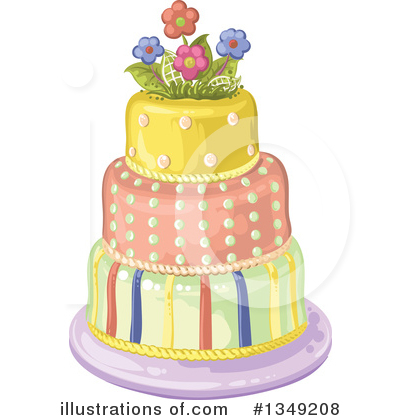Cake Clipart #1349208 by merlinul