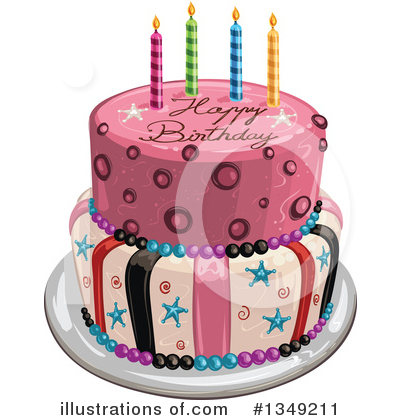 Cake Clipart #1349211 by merlinul
