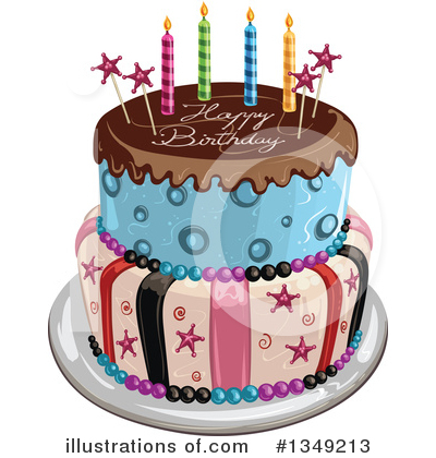 Cake Clipart #1349213 by merlinul