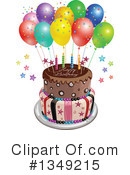 Royalty-Free (RF) Cake Clipart Illustration #1349215