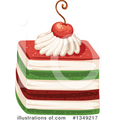 Cake Clipart #1349217 by merlinul